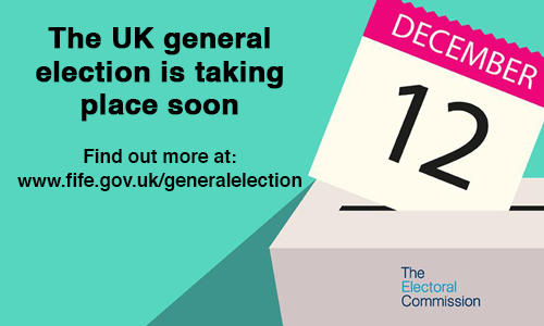 The General Election will take place on 12 December 2019, make sure you vote using a cross(X)