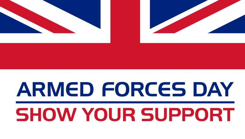 Union Flag - Show your support for Armed Forces Day