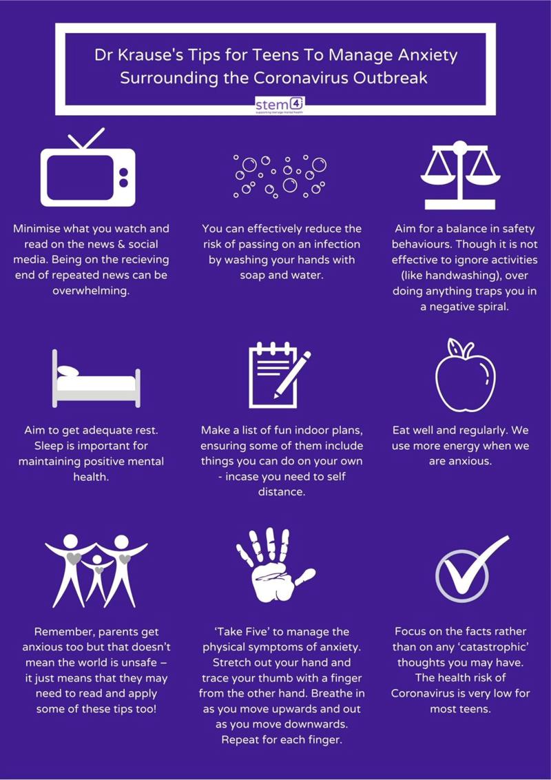 Tips for teens infosheet