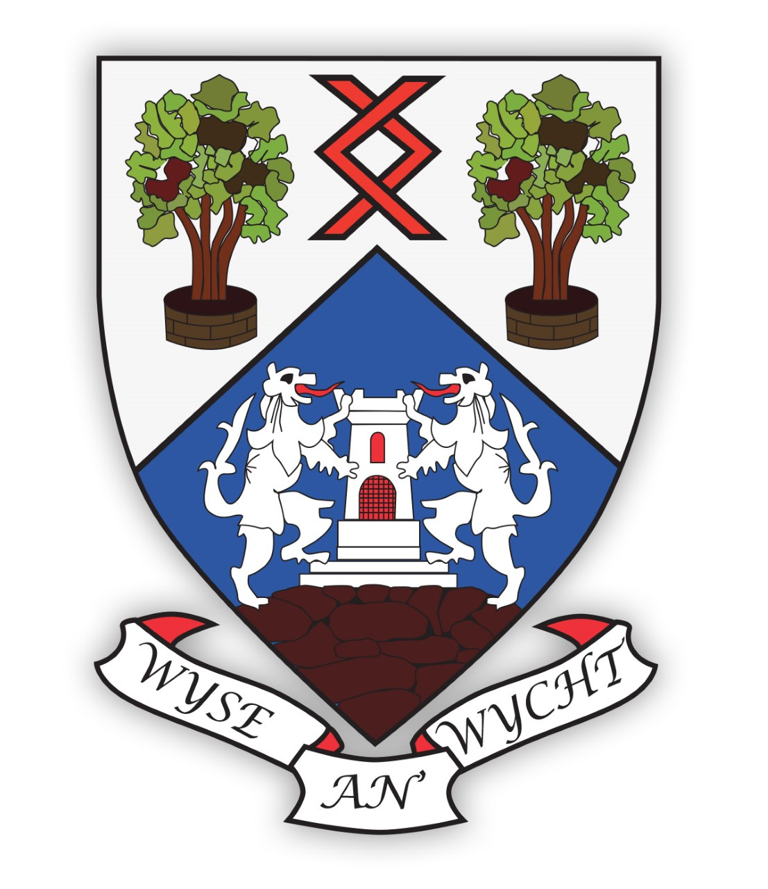 Woodmill badge