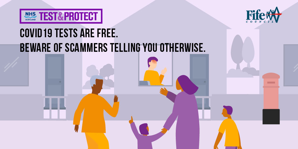Test and Protect scam