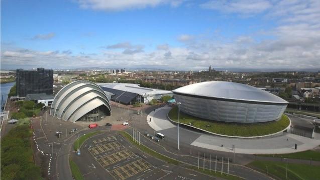 COP 26 venue in Glasgow