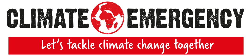 climate emergency - let's tackle climate change together